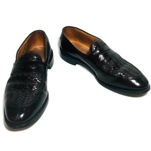 Allen Edmonds Foley Woven Leather Dress Shoes